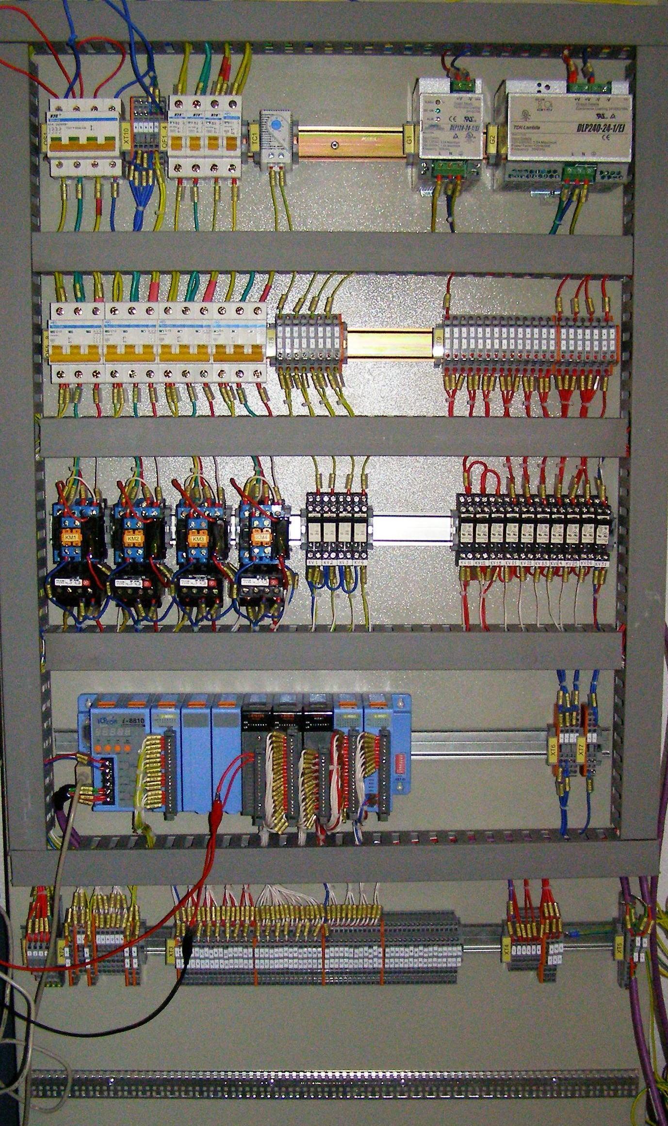 принципиальная схема асу работы вентилятора описание